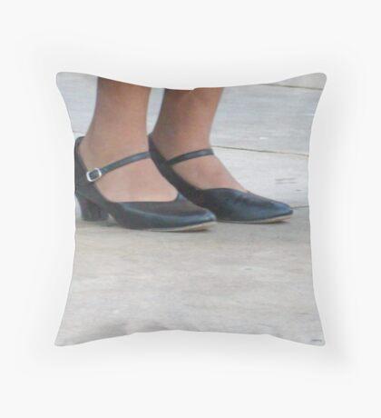 Dancer Shoes Throw Pillow