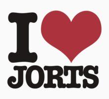 I <3 Jorts Kids Clothes