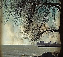 city under a tree by Angel Warda