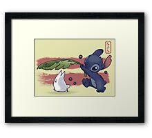The Spirit of Ohana Framed Print