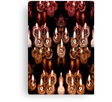 Good Friday Fayre Votive Candles Chichester West Sussex Canvas Print