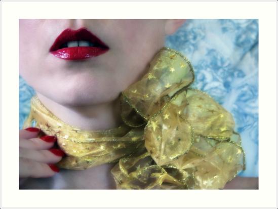~ gold ribbon ~ by Adriana Glackin