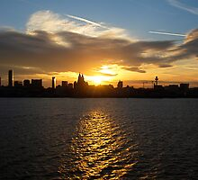 Sunrise in Liverpool by TheLilD