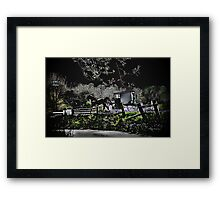Amish Traveler Framed Print