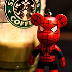 Starbucks Spider Bear by Aaron Foo Chee Mun