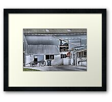 Barn n' Buggy Framed Print