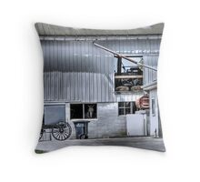 Barn n' Buggy Throw Pillow