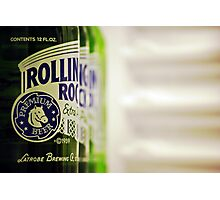 Rolling Rock: I Photographic Print