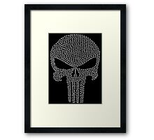The Punisher - Tally Framed Print