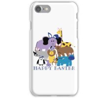 Happy Easter at the Zoo iPhone Case/Skin