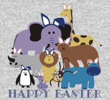 Happy Easter at the Zoo Baby Tee