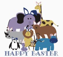Happy Easter at the Zoo Kids Clothes