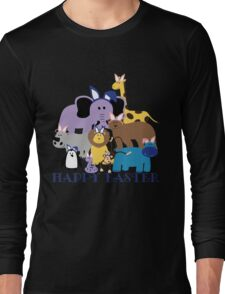 Happy Easter at the Zoo Long Sleeve T-Shirt