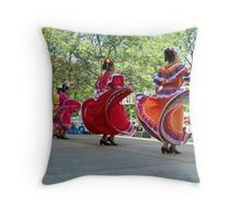dance motion 2 Throw Pillow