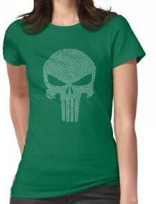 The Punisher - Tally Womens Fitted T-Shirt