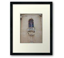 Balcony Framed Print