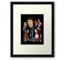 Angel TV series - The Good Guys Framed Print