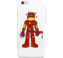 Iron cat iPhone Case/Skin