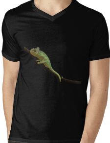 Chameleon Mens V-Neck T-Shirt
