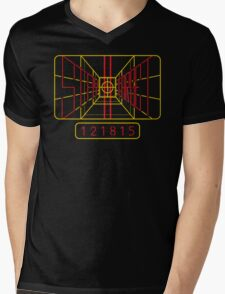 Stay On Target Mens V-Neck T-Shirt