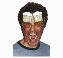 Will Ferrell beer glasses by guidorny
