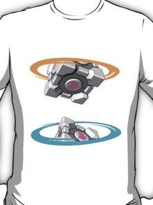 Companion Cube Portal T-Shirt