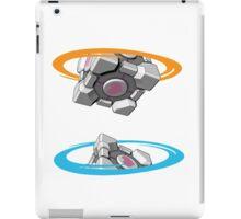 Companion Cube Portal iPad Case/Skin