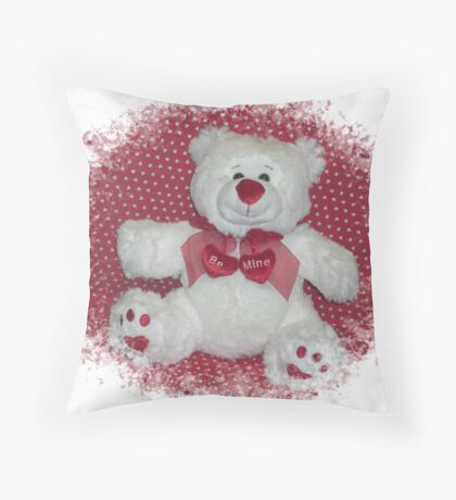 Won't You Be Mine? Throw Pillow