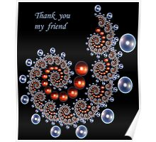 Thank You My Friend Poster