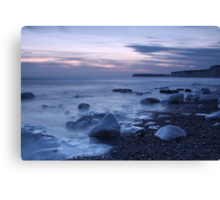 Sea Mist at Birling Gap Canvas Print