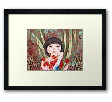 #8 Poppy Framed Print