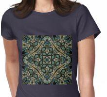 Festive precious ornament pattern Womens Fitted T-Shirt