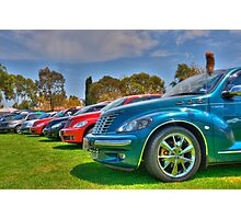 PT Cruiser Rainbow Photographic Print