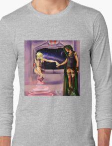 Oooh--Shiny!  I want it! Long Sleeve T-Shirt