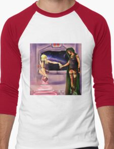 Oooh--Shiny!  I want it! Men's Baseball ¾ T-Shirt