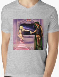 Oooh--Shiny!  I want it! Mens V-Neck T-Shirt