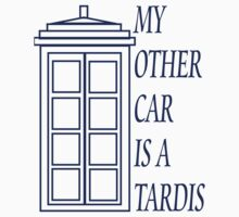 My Other Car is a TARDIS by Amanda Vontobel Photography