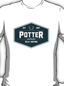 Potter Authentic Relic Hunting - Alt T-Shirt