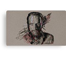 Rick Grimes The Walking Dead Canvas Print