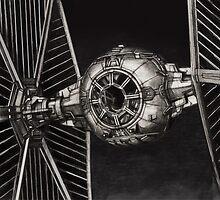 StarWars TIE Fighter by Byron Stoddard