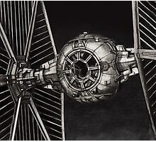 StarWars TIE Fighter Photographic Print