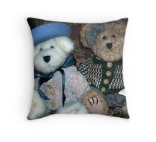 Dressed to Shop Throw Pillow