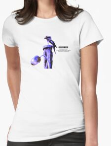 Victorian Birds Womens Fitted T-Shirt