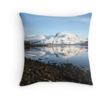Ben Nevis from Corpach. Throw Pillow