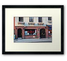 Stonewall Inn. Greenwich Village. Framed Print