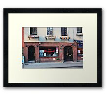 Stonewall Inn. Greenwich Village. Framed Print