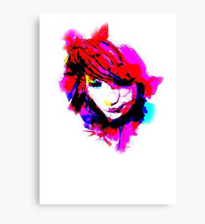 Facepaint Canvas Print