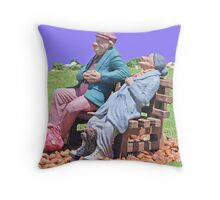 The hobo's Throw Pillow