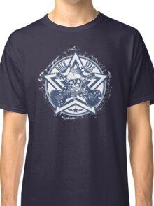 Rock Star Guitars & Skull Classic T-Shirt