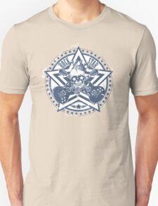 Rock Star Guitars & Skull Unisex T-Shirt